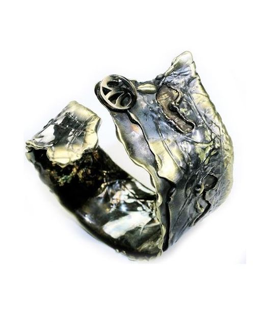 Sibilla G Jewelry | Metallic Sibilla G Aemilia Metamorphose Cuff In Oxidized Brass | Lyst
