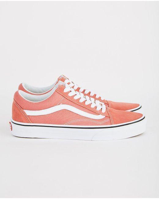 fae1cd9c5ef4 Vans - Pink Old Skool - Lyst ...