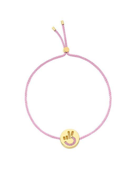 Ruifier - Pink Peace Hands Up Bracelet - Lyst
