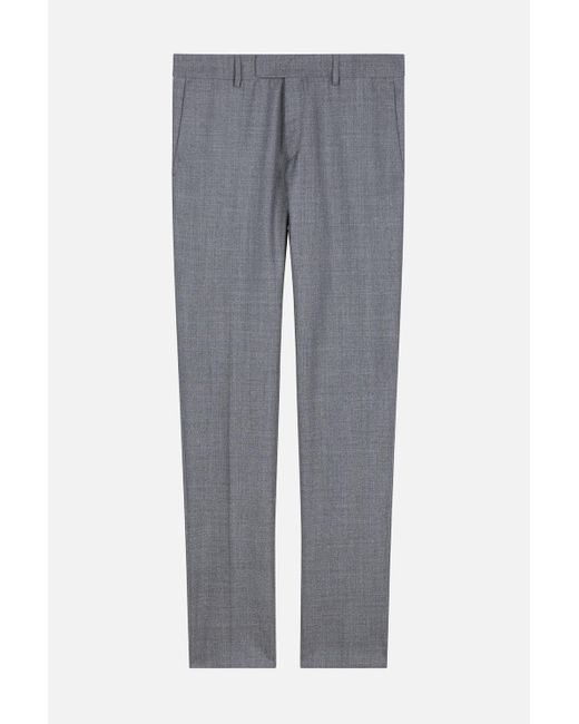AMI - Gray Straight Fit Trousers for Men - Lyst
