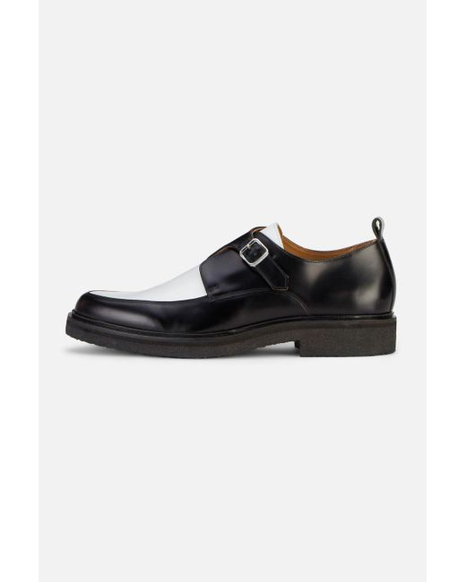 AMI - Black Creeper Monk With Crepe Sole for Men - Lyst