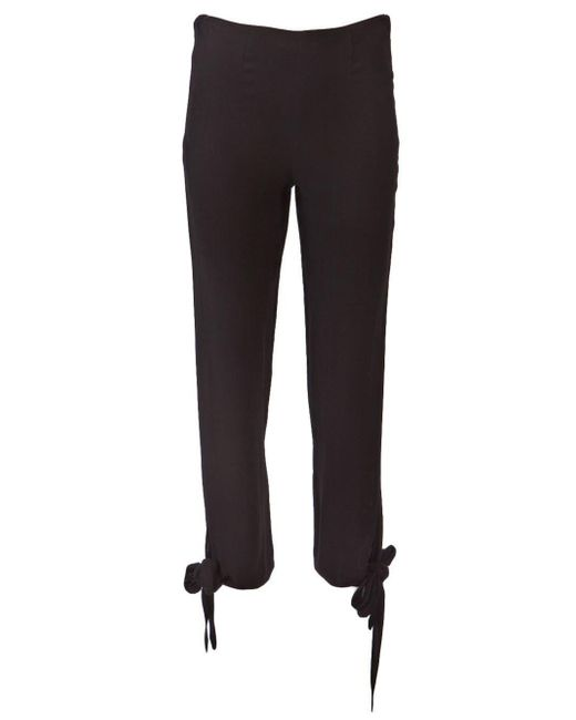 Jean Paul Gaultier | Black Knot Ankle Trouser | Lyst