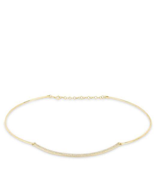 Anne Sisteron - Metallic 14kt Yellow Gold Diamond Cleopatra Choker Necklace - Lyst