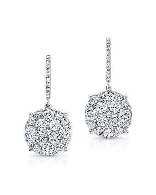 Anne Sisteron - Metallic 18kt White Gold Diamond Anne Earrings - Lyst