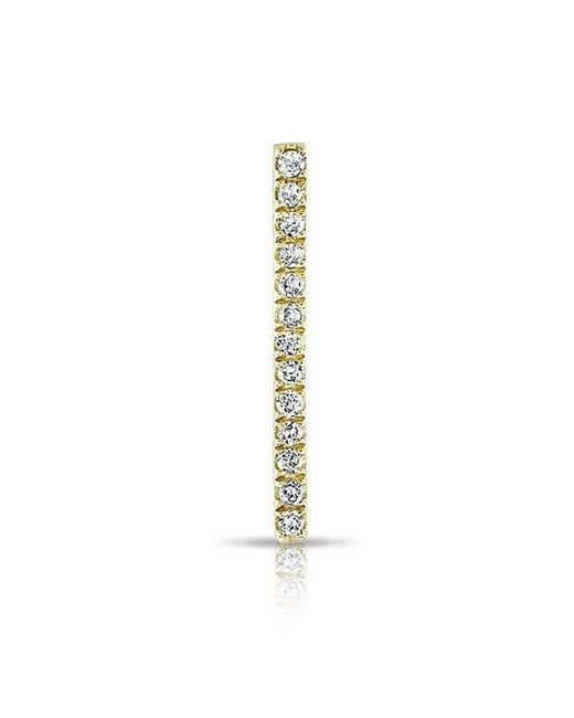 Anne Sisteron | Metallic 14kt Yellow Gold Diamond Bar Ear Climber | Lyst