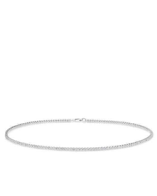 Anne Sisteron | Multicolor 14kt White Gold Diamond Leash Collection Choker Necklace | Lyst