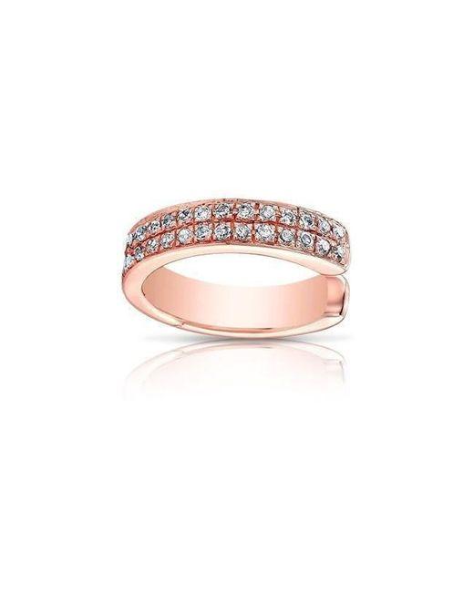 Anne Sisteron - Pink 14kt Rose Gold Diamond Chloe Ear Cuff - Lyst