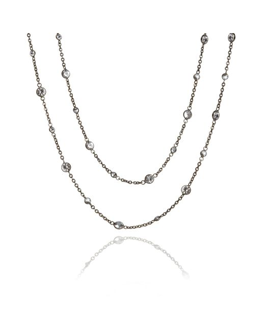 Annoushka - Metallic Nectar Night Jasmine Necklace - Lyst