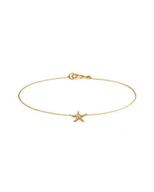 Annoushka | Metallic Love Diamonds Starfish Bracelet | Lyst