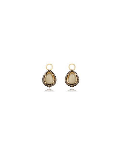 Annoushka | Metallic Olive Quartz Earring Drops | Lyst
