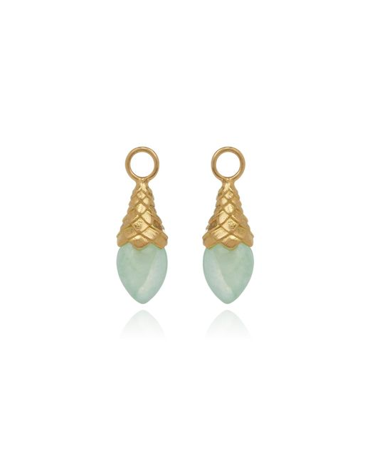 Annoushka - Metallic Jade Earring Drops - Lyst