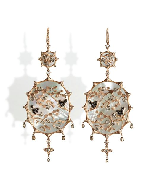 Annoushka - Metallic Dream Catcher Large Earrings - Lyst