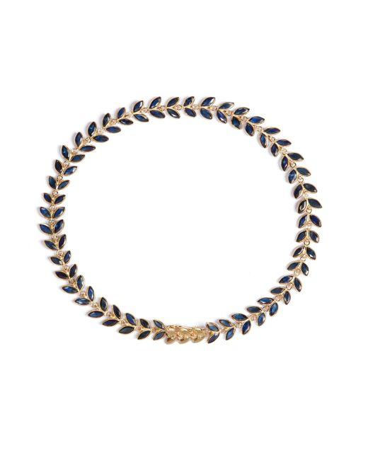 Annoushka | Metallic Sapphire Vine Bracelet | Lyst