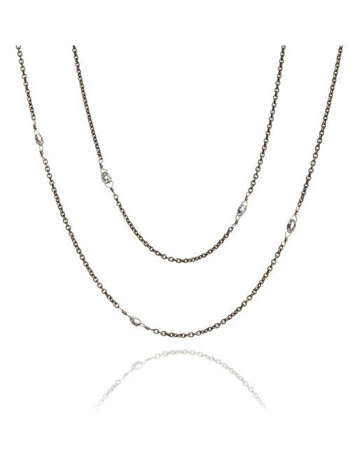 Annoushka - Metallic Eclipse Diamond Briolette Chain - Lyst