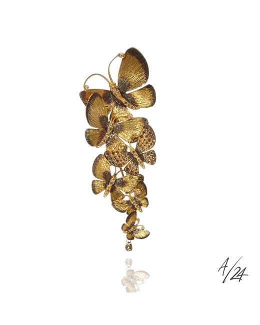 Annoushka - Metallic Butterflies Pendant - Lyst