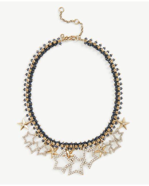 Ann Taylor | Metallic Stellar Star Necklace | Lyst