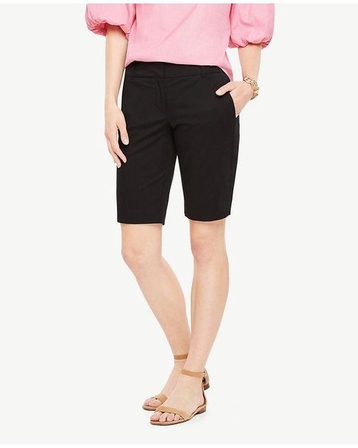 Ann Taylor - Black Petite Walking Shorts - Lyst