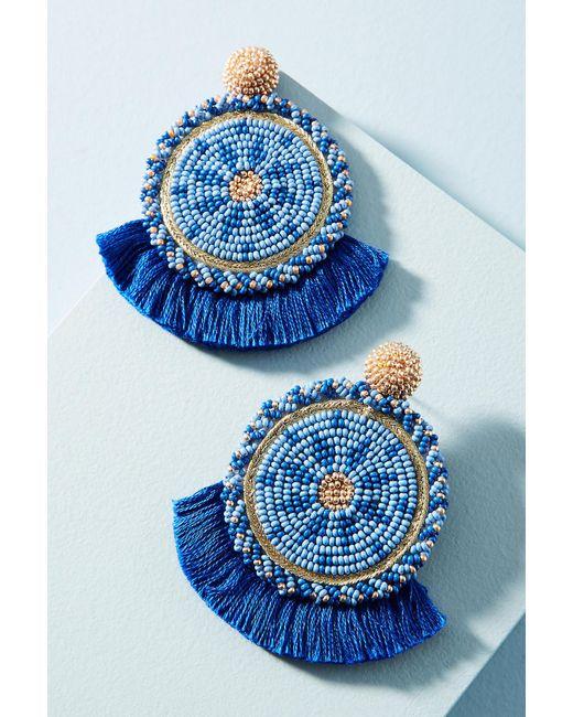 Olivia Dar   Blue Havana Drop Earrings   Lyst