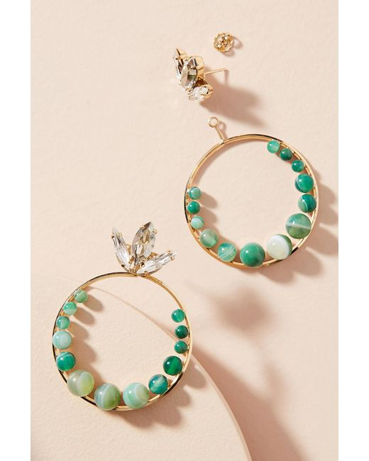 Anton Heunis | Green Milla Drop Earrings | Lyst