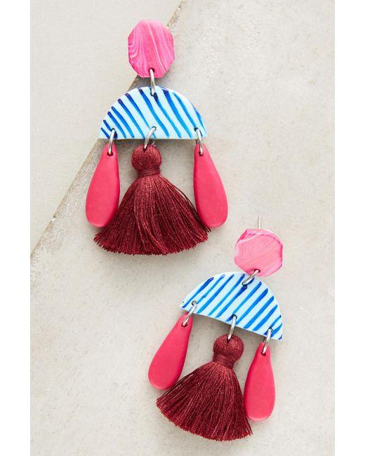 Jemima Kingston | Pink Brisbane Earrings | Lyst