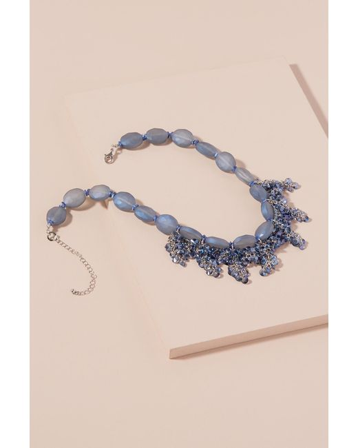 Anthropologie | Blue Coraline Stone Necklace | Lyst
