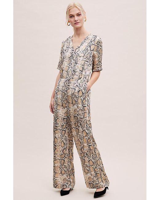 f3ce02ffe3fd SELECTED - Multicolor Snake-print Wide-leg Jumpsuit - Lyst ...