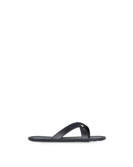 Armani Jeans | Blue Sandal | Lyst