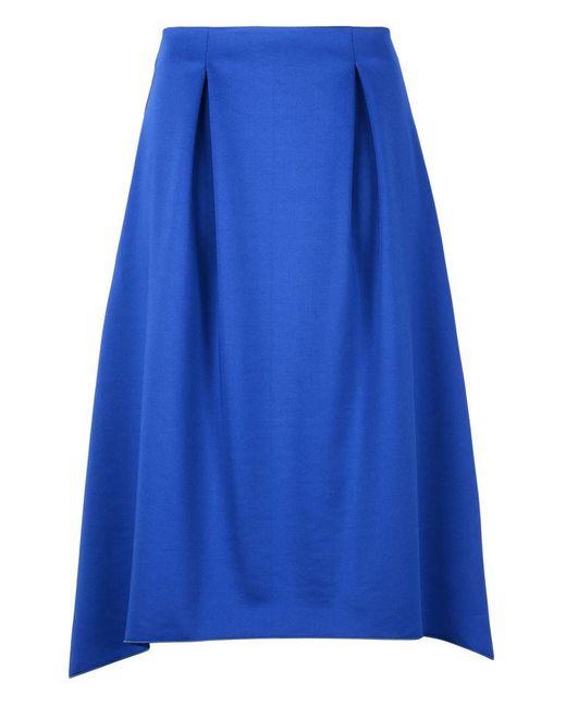 Armani Jeans | Blue 3/4 Length Skirt | Lyst