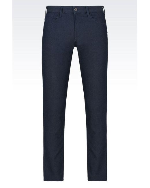Armani Jeans | Blue 5 Pockets for Men | Lyst