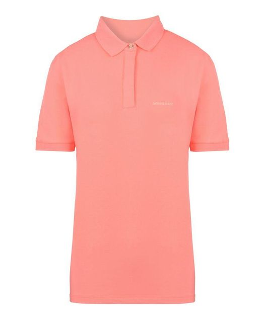 Armani Jeans | Pink Short-sleeved Polo | Lyst