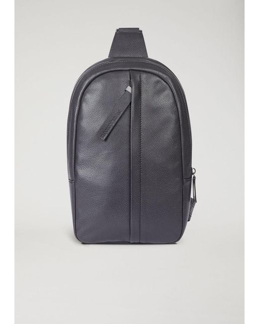 9bf8c481f453 Emporio Armani - Black Backpack for Men - Lyst ...
