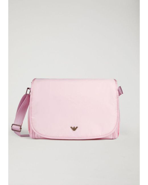 Emporio Armani Pink Diaper Bag Lyst