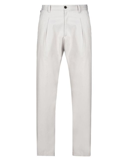 Armani | Gray High-waist Pant for Men | Lyst