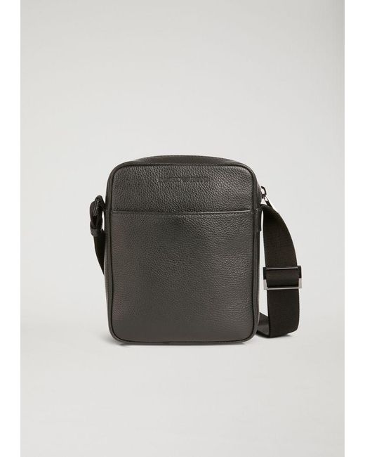 688f5acd6388 Emporio Armani - Black Crossbody Bag for Men - Lyst ...
