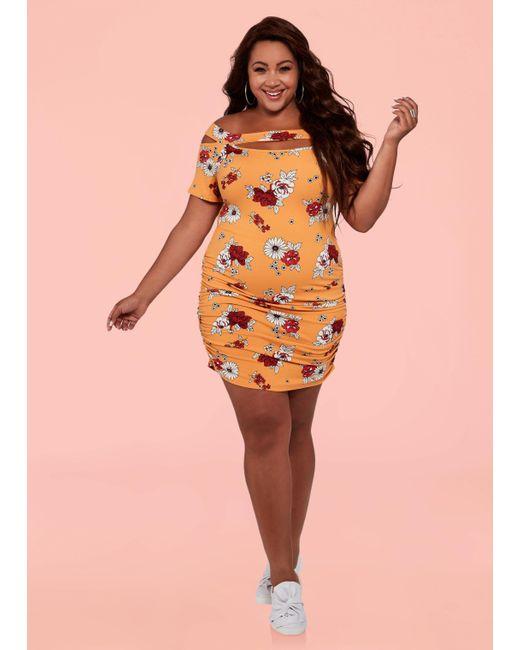 Ashley Stewart - Orange Plus Size The Laura Dress - Lyst
