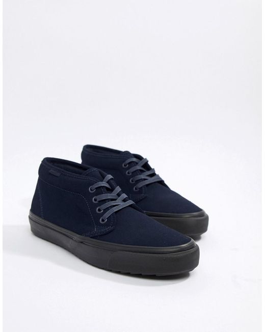 Vans - Blue Chukka Wafflesaw Trainers In Navy Vn0a3tkau741 for Men - Lyst