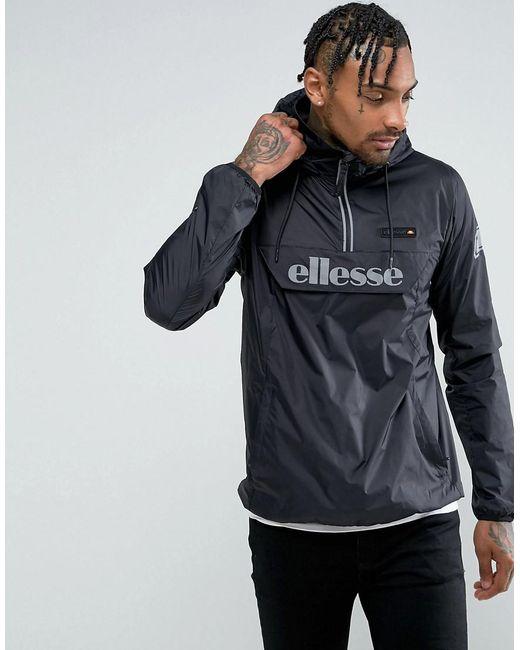 Ellesse - Overhead Jacket With Reflective Logo In Black for Men - Lyst
