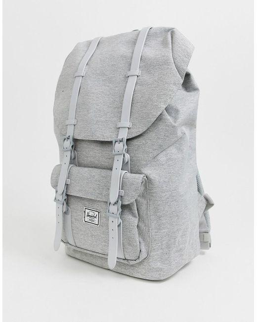 e540ee38f01 Herschel Supply Co. - Gray Little America 25l Backpack In Light Grey  Crosshatch for Men ...