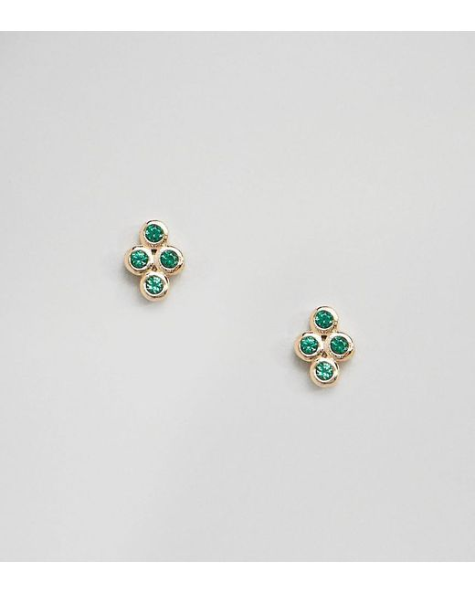 Shashi - Metallic 18k Gold Plated Noa Stud Earrings - Lyst