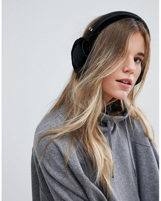 Ugg | Classic Wired Sheepskin Black Earmuff Headphones | Lyst
