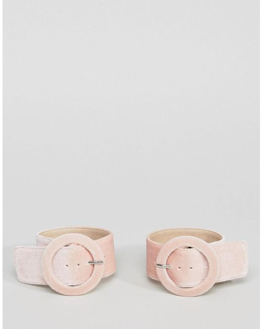 ASOS - Pink Ankle Cuffs - Lyst