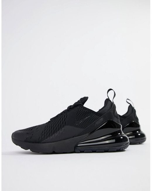 separation shoes 98d59 afbab Nike Air Max 270 Trainers In Black Ah8050-005 in Black for Men - Lyst