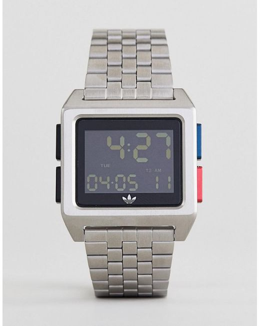 how to change time on adidas watch adp6005