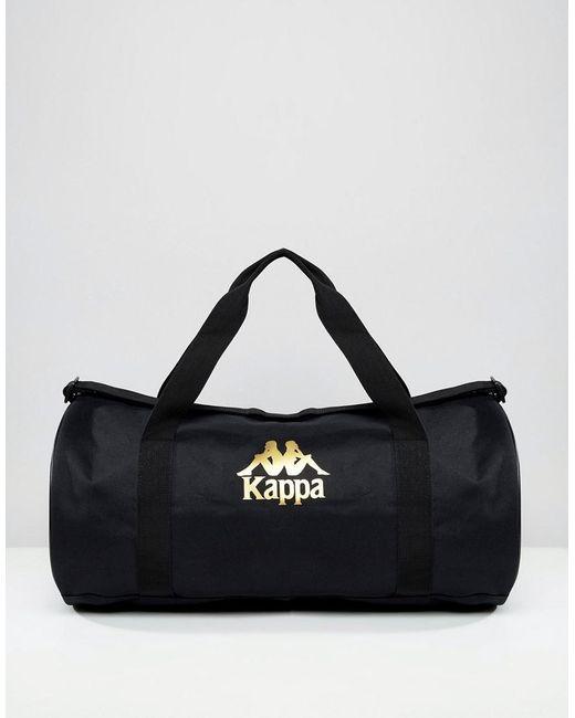 52ae3903c4 Sac de sport avec bande logo Kappa pour homme en coloris Noir - Lyst