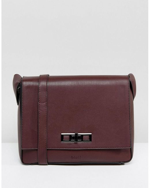 Nali - Red Burgundy Crossbody Bag - Lyst