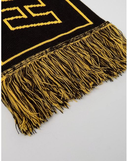 Knitting Pattern For Football Scarf : Asos Knitted Football Scarf With Reversible Slogan in ...
