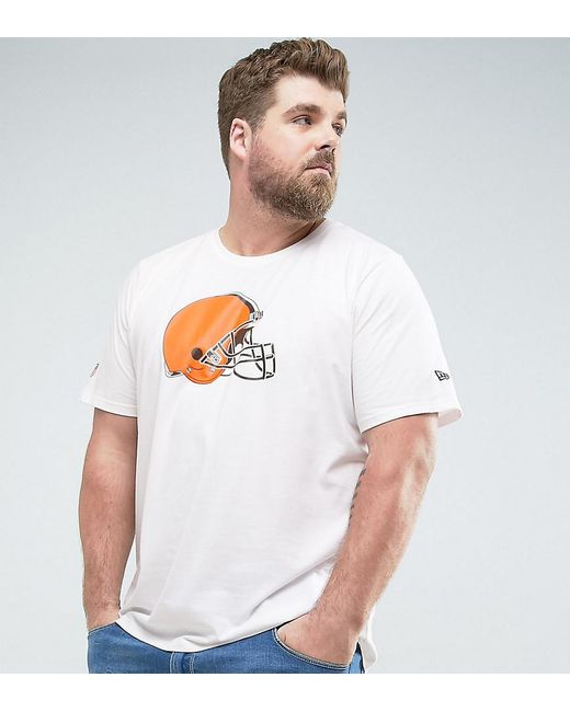 KTZ | Plus Nfl Cleveland Browns T-shirt In White for Men | Lyst