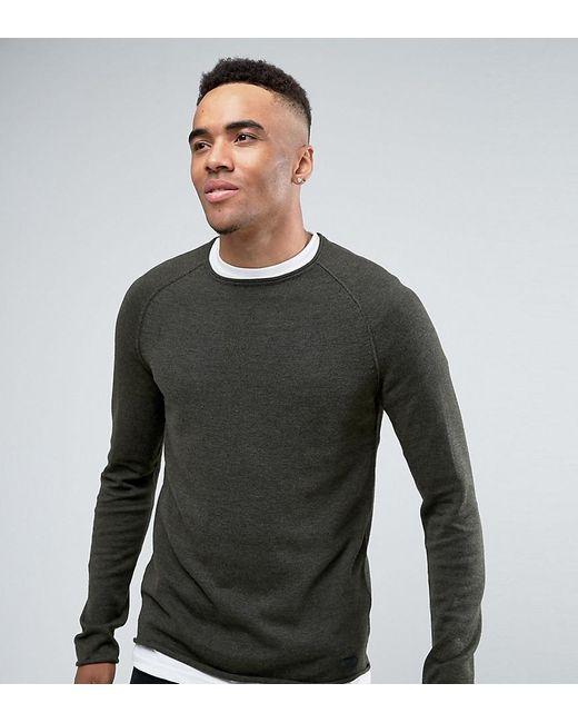 Blend | Green Roll Hem And Neck Sweater for Men | Lyst