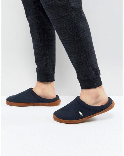 Ralph Lauren | Blue Jaque Scuff Slippers for Men | Lyst