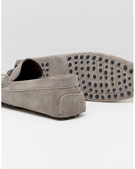 Chaussures D'entraînement Asos En Daim Gris Avec Filet - Gris h05mE